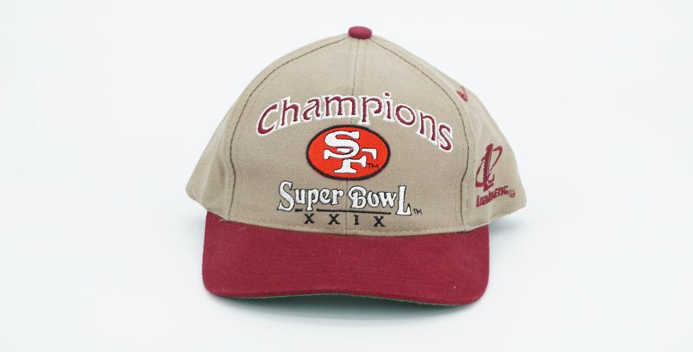 San Francisco 49ers Super Bowl Champions Hat