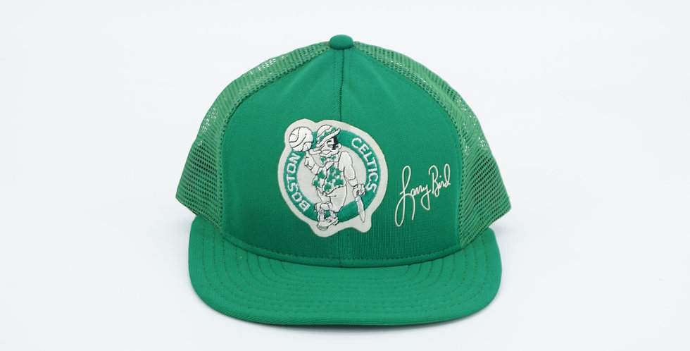 Boston Celtics Larry Bird Trucker