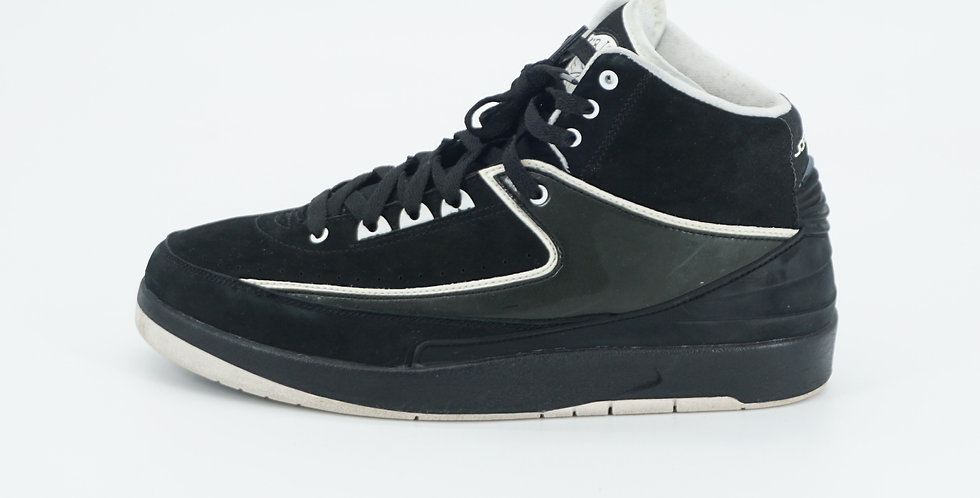 Jordan 2 Retro QF Black White