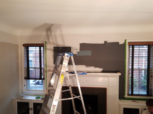 Living Room Paint Job