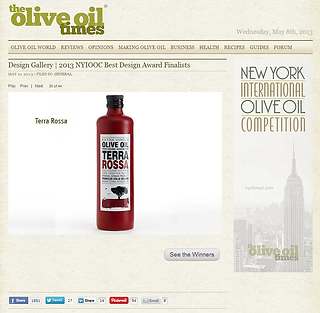 International Olive Oil Competition - New York 2013