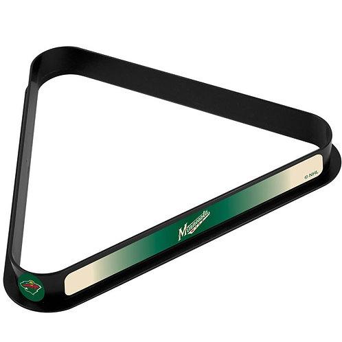 NHL Minnesota Wild Billiard Ball Triangle Rack