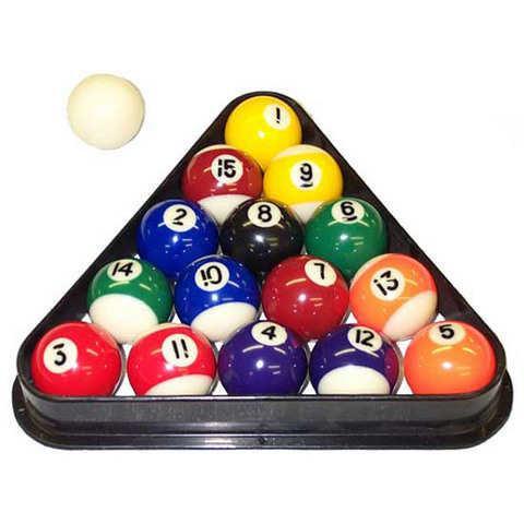 Miniature Pool Ball Set