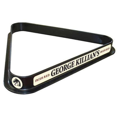 George Killians Billiard Ball Triangle Rack