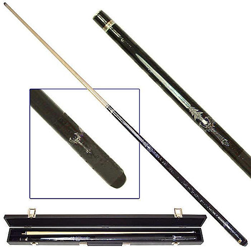Blue Sword Pool Cue with Case