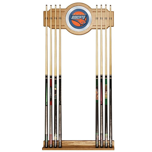 Charlotte Bobcats NBA Billiard Cue Rack With Mirro