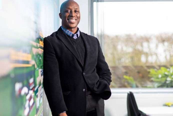 Fredi Nonyelu is pictured for a Black Founders feature