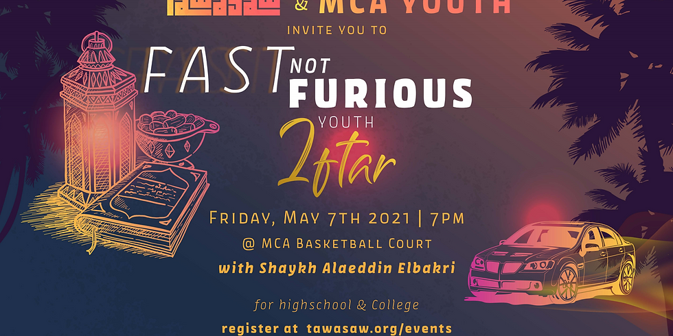 FAST not FURIOUS Youth Iftar