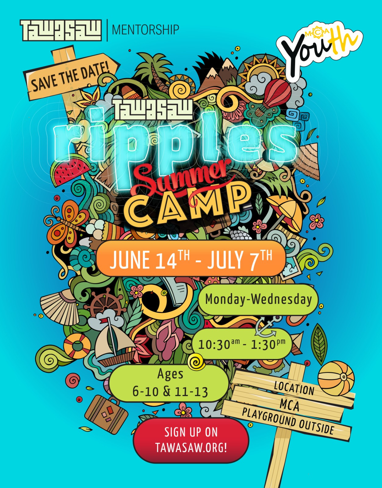 Ripples Summer Camp (Drop  Ins 1 day)