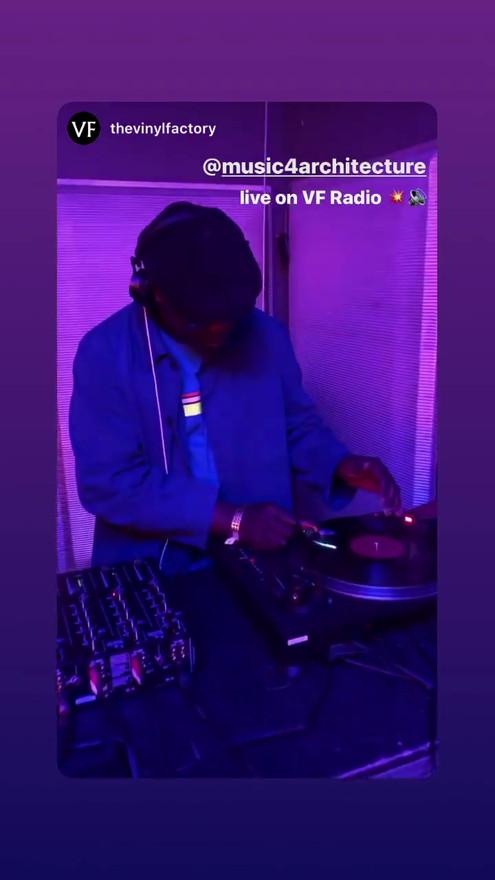 Vinyl Factory Radio DJ Set
