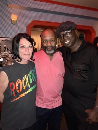 Sue Webster, Theaster Gates & Peter