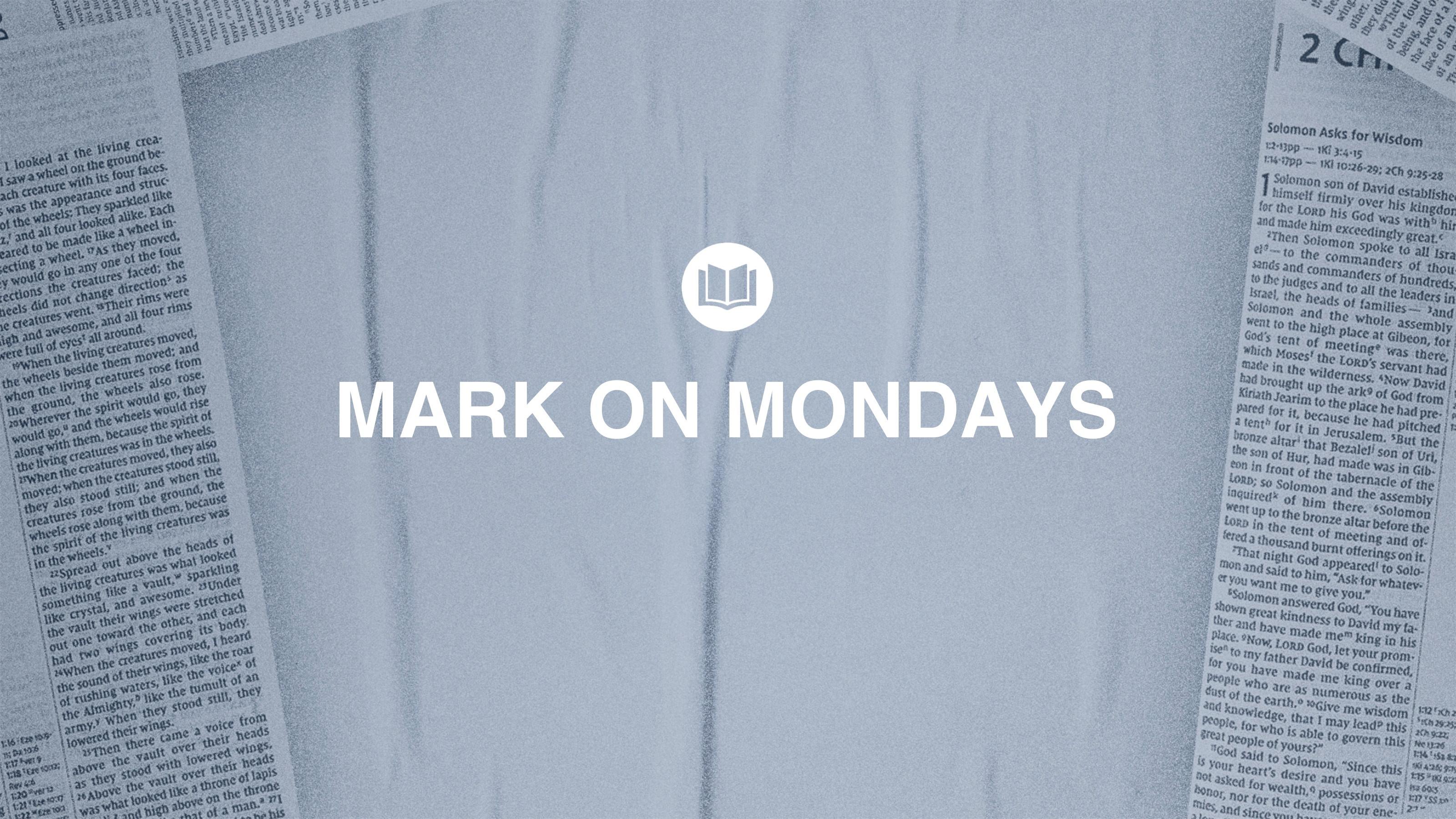 Mark on Mondays