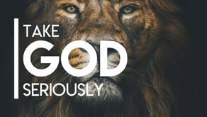 Take God Seriously