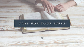 Time For Your Bible