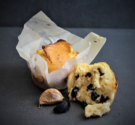 Black Garlic muffin.JPG