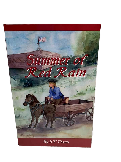 Summer of Red Rain by S.T. Davis