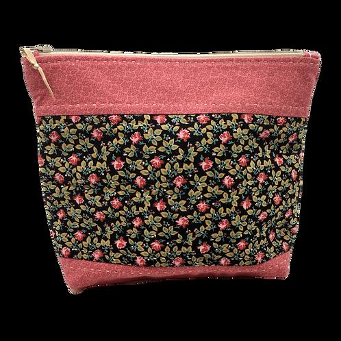 Zippered Bag (Medium) - Dusty Roses