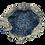 Thumbnail: Drawstring Pouches (Set of Three) - Blue & Gold