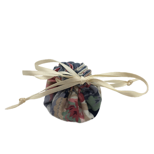 Drawstring Pouch (Small) - Flowers