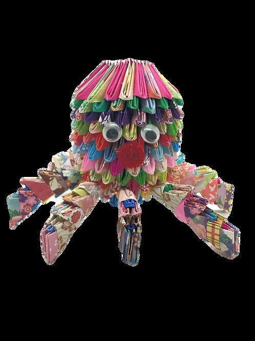 Origami Octopus - Multi-Colored