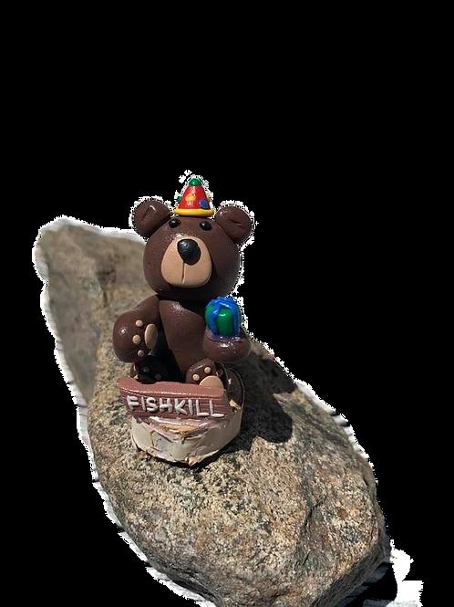 Fishkill Happy Birthday Clay Bear
