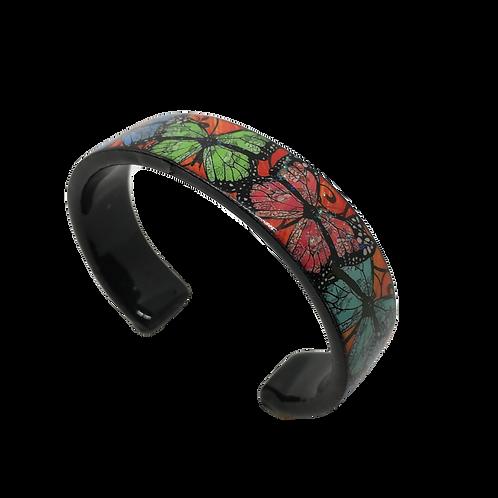Nano Cuff Bracelet - Five Butterflies