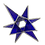 Thumbnail: Stained Glass - 3D Blue Star