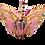 Thumbnail: Origami Crane - Yellow & Pink