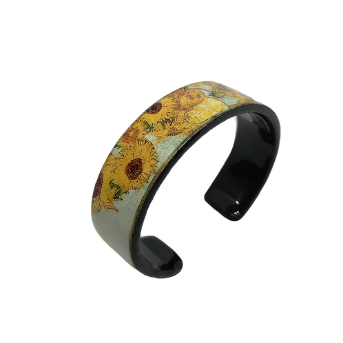 Nano Cuff Bracelet - Van Gogh Sunflowers
