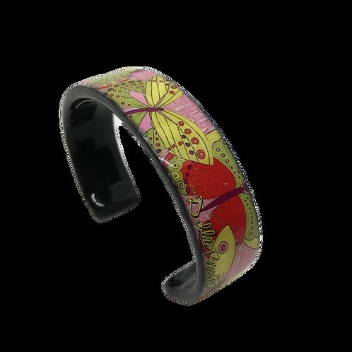 Nano Cuff Bracelet - Pastel Butterflies
