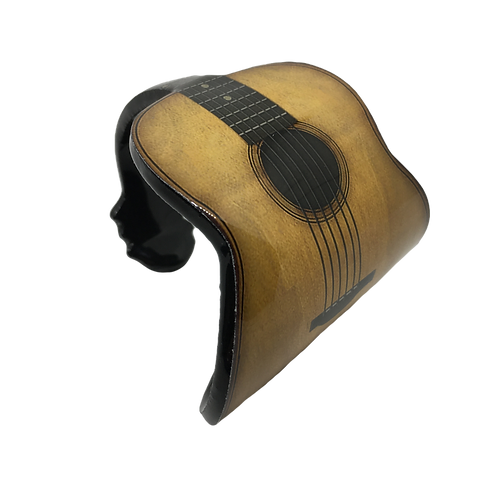 Narrow Cuff Bracelet - Guitar