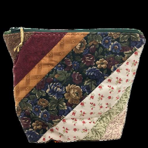 Zippered Bag (Medium) - Quilted Scraps