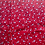 Thumbnail: Set of 4 Reversible Cotton Placemats Red & Gray