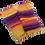 Thumbnail: Yoga Socks - Yellow, Orange and Hues of Purple