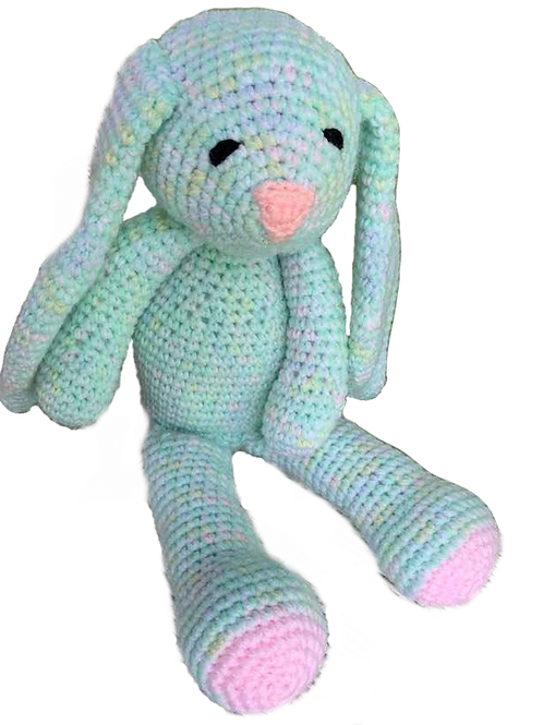 Pastel Colored Bunny