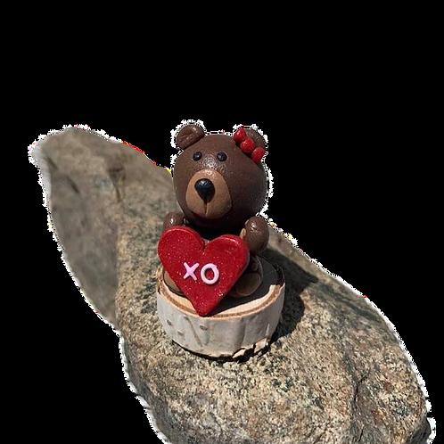 """""""I love you"""" Clay Bear"""