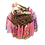 Thumbnail: Origami Love Birds in Nest - Multi-Colored/Pink