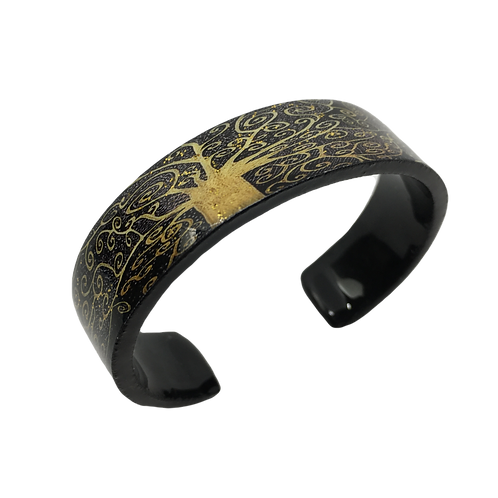 Nano Cuff Bracelet - Gold Tree of Life