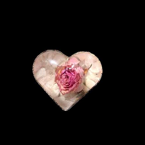 Pink Rose Paper Weight