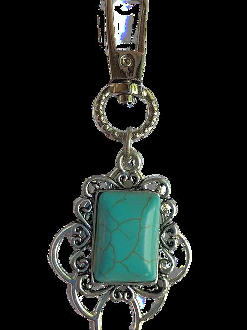 Turquoise Stone Key Chain