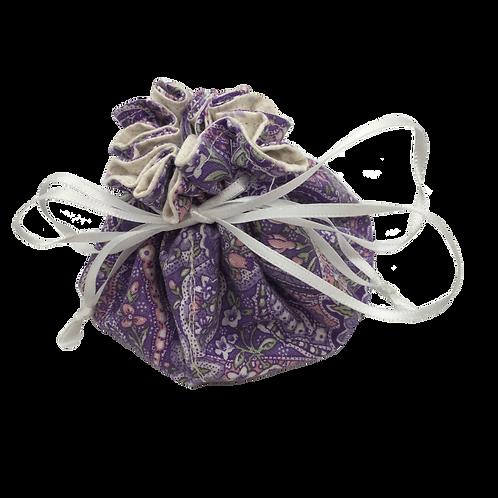 Drawstring Pouch (Medium) - Lavender Delight (W)