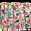 Thumbnail: Set of 4 Reversible Cotton Placemats Colorful Birds