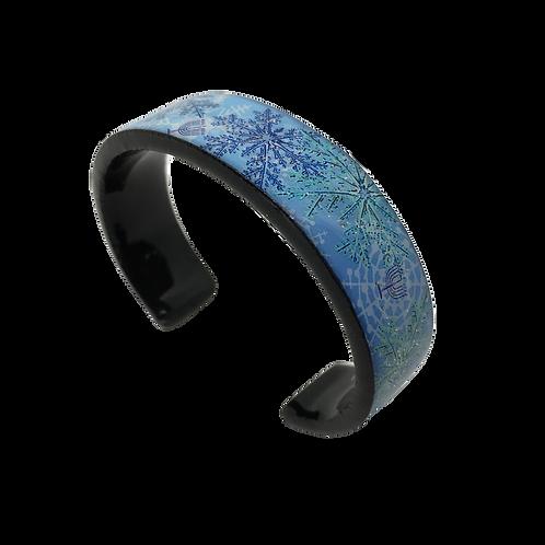 Nano Cuff Bracelet - Frosty Flake & Menorah