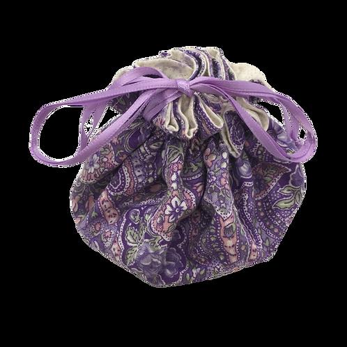 Drawstring Pouch (Medium) - Lavender Delight (P)