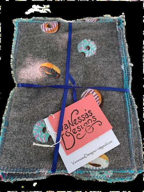 Small Reusable Cloths Donuts