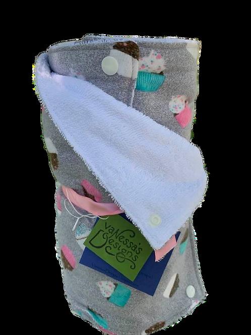 "Reusable ""Paper"" Towels Cupcakes"