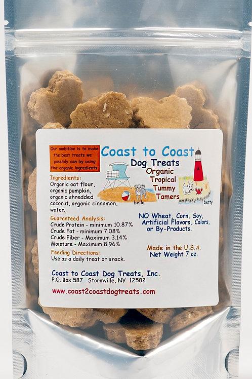 Coast to Coast Dog Treats - Tropical Tummy Tamers (Pumpkin)
