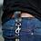 Thumbnail: Chaveiro Cutterman SNAP HOOK - Black/Silver