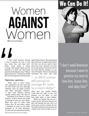 Women Against Women