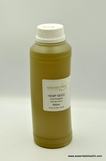 Hemp Seed Cold Pressed 500ml